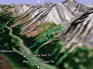 行山樂 - Ptarmigan Cirque Interpretive Trail