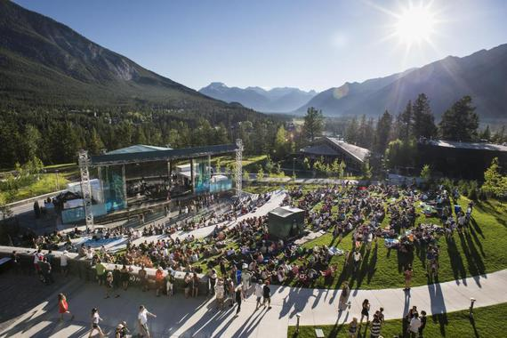 (Photo: Banff Center Shaw Amphitheatre)