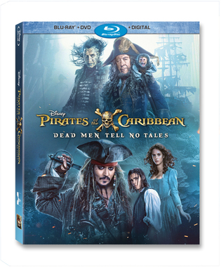 Movie 請你看好戲《Pirates of the Caribbean: Dead Men Tell No Tales》DVD