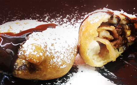 Deep Fried Bacon Wrapped Reese's Cups 炸Bacon花生醬杯