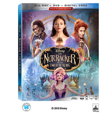 Blu-ray  請你看好戲 《THE NUTCRACKER AND THE FOUR REALMS》